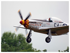 "North American P-51D Mustang ""Nooky Booky IV"" (F-AZSB) - Photo of Vayres-sur-Essonne"