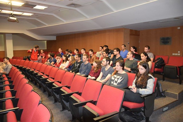13.04.2016 Third Enrichment lecture by Prof. Tomer Michaeli