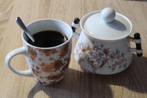 Kaffee zur Begrüßung
