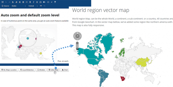 Linky Map v2.3.5 - Joomla Vector Maps