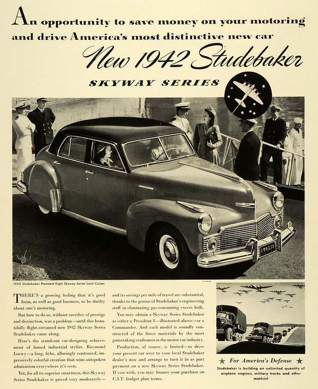 1942 Studebaker Skyway