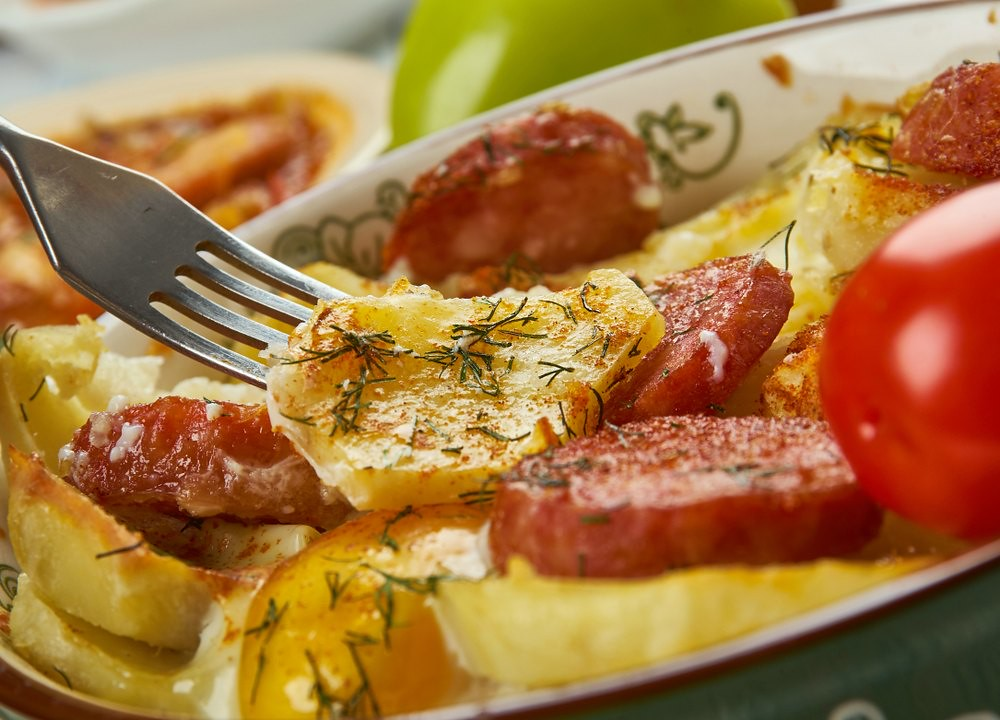 What to Eat in Budapest: Rakott Krumpli