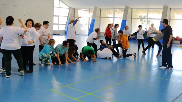 Jornada deportiva intergeneracional en la UPO