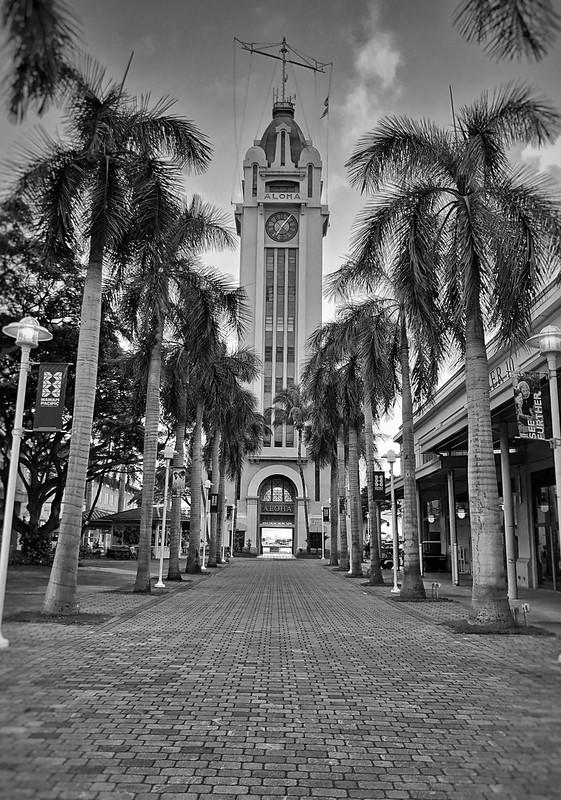 Aloha Tower - Honolulu, HI - Oahu