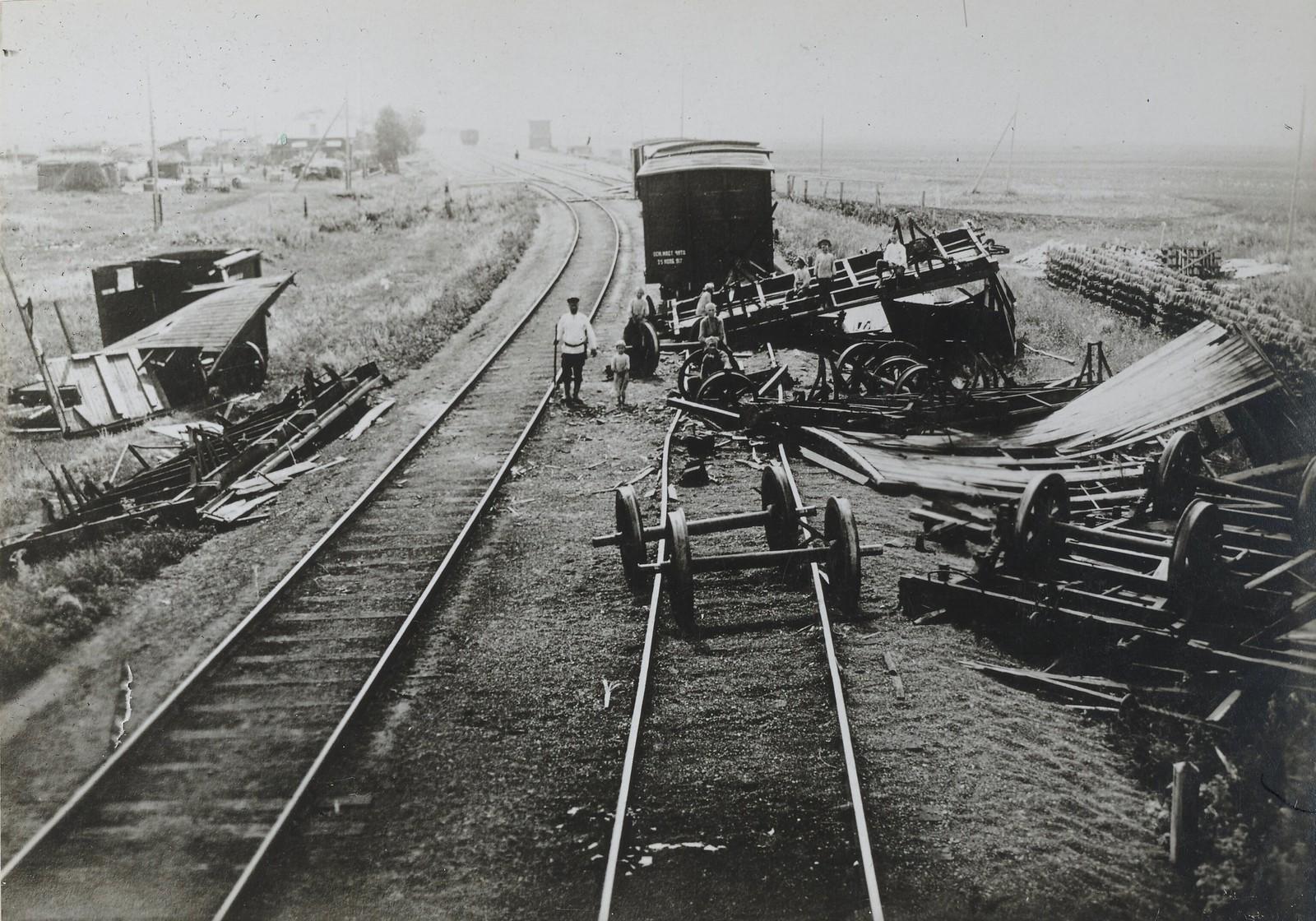 Диверсия на железной дороге