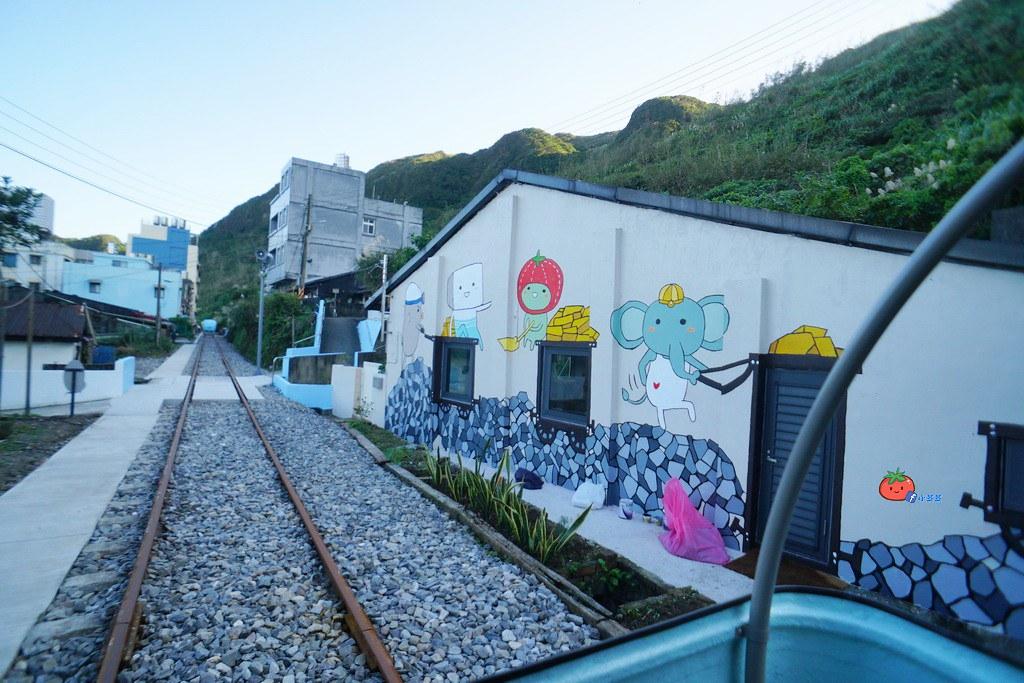 【基隆瑞芳】美翻!無敵海景配浪漫海底隧道~深澳鐵道自行車Rail Bike 就在北台灣最美八斗子車站旁
