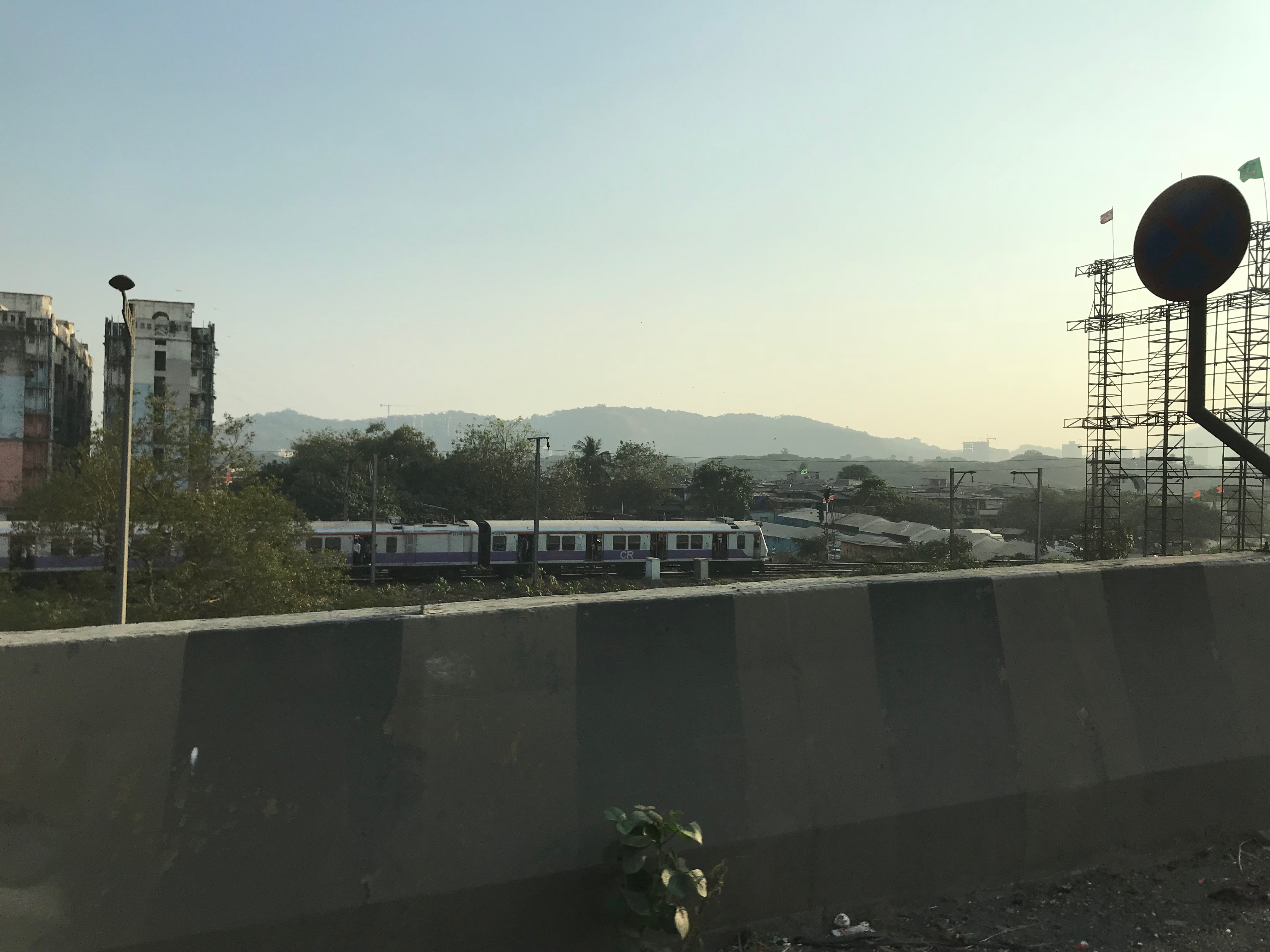 Arriving Mumbai