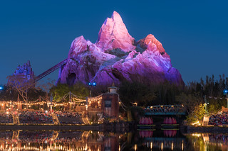 Expedition Everest at Blue Hour