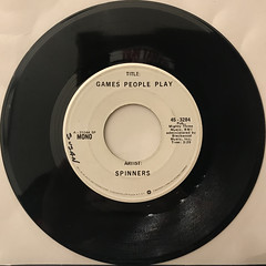 SPINNERS:GAMES PEOPLE PLAY(RECORD SIDE-B)