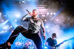 August Burns Red + Support - Pustervik, Gothenburg 22.11.18