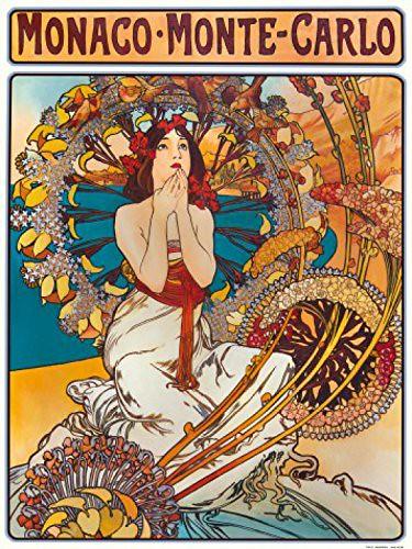 poster Art by Alphonse Mucha