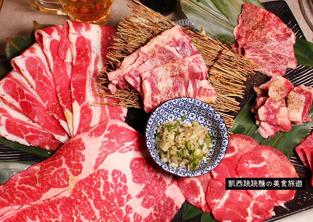 台北燒烤吃到飽 火之舞蓁品燒 和牛放題 東區燒肉010