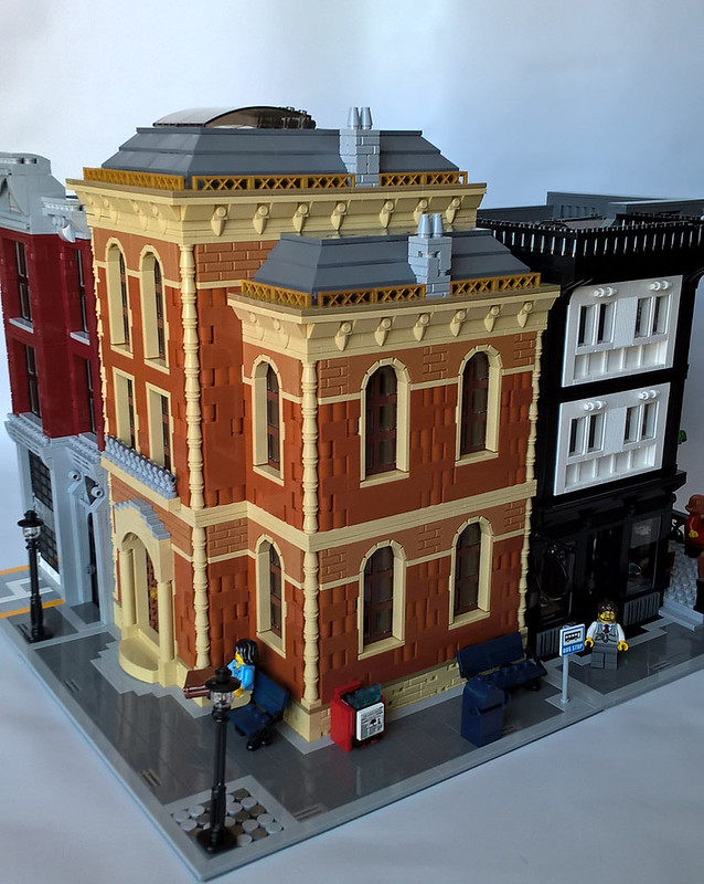 Lego Library Building