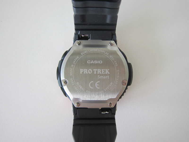 Casio WSD-F30 - Back