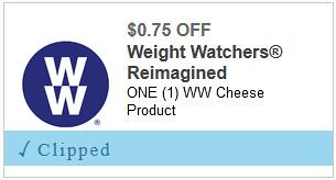 graphic relating to Weight Watchers Printable Coupons called Refreshing Excess weight Watchers Discount coupons: Help save upon Cheese and Ice Product