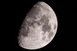 The Moon / @ 1250 mm / 2019-02-14