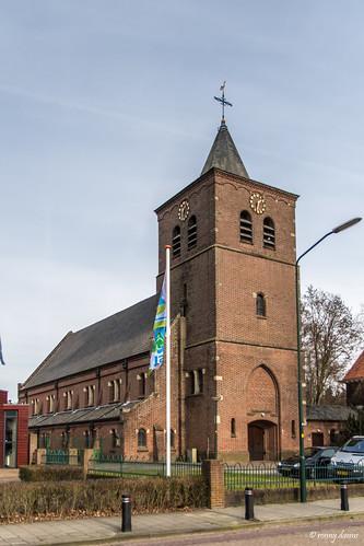 Netersel, Sint-Antonius van Padua en Brigidakerk.