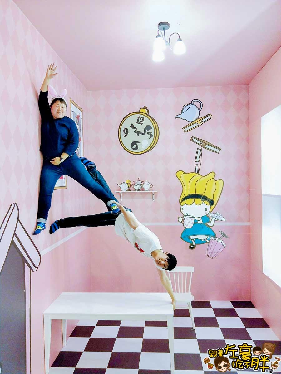 夢時代來偶的童話樂園-愛麗絲夢遊仙境-13