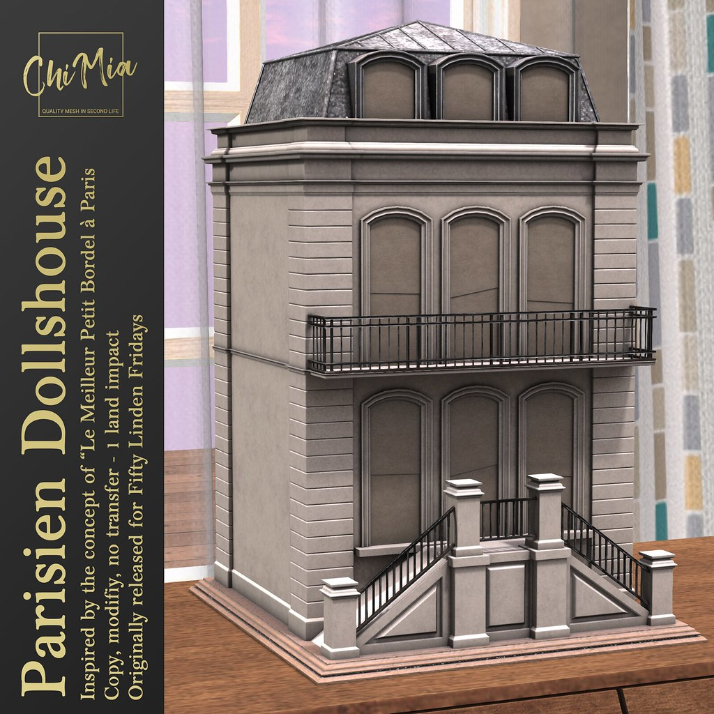 ChiMia – Parisien Dollshouse – FLF