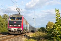 Tracy-sur-Loire | FR-58 (Nièvre, Bourgogne-Franche-Comté) | 01.10.2018 | SNCF-BB 26057 with train 5916 Nevers - Paris - Photo of Pouilly-sur-Loire