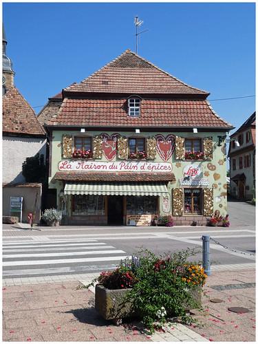 Gertwiller,la maison du pain d'épices.