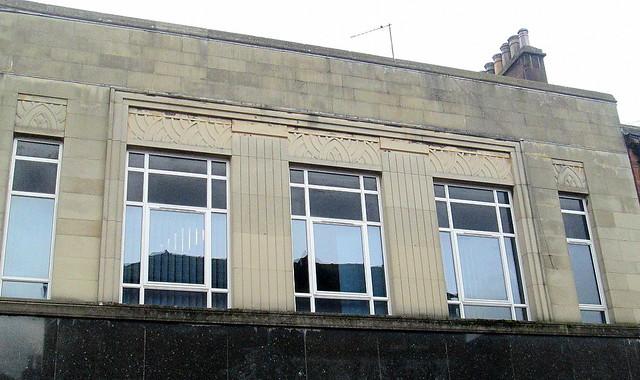 Art Deco Detailing, Burton's, Penrith