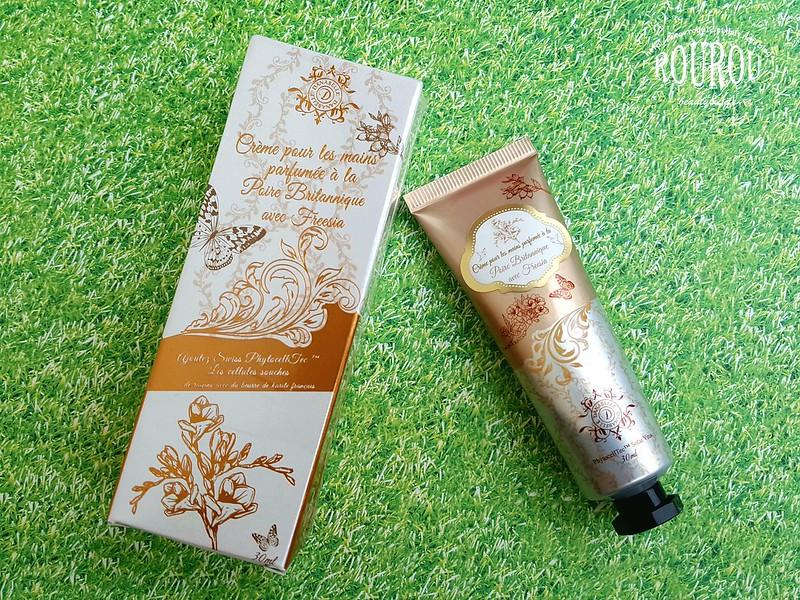 葡萄幹細胞高效保濕香氛護手霜1
