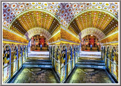 sridaladamaligawa kandy srilanka tooth temple 3d stereoscopy stereophotography