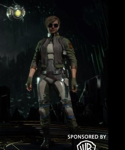 Mortal Kombat 11 - Cassie Kombat Jacke