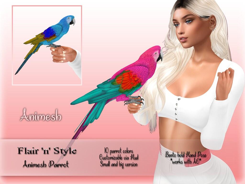 {Flair 'n' Style} Animesh Parrot - TeleportHub.com Live!