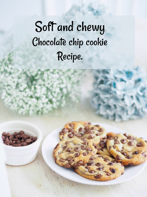 chocolate chip cookies Pinterest