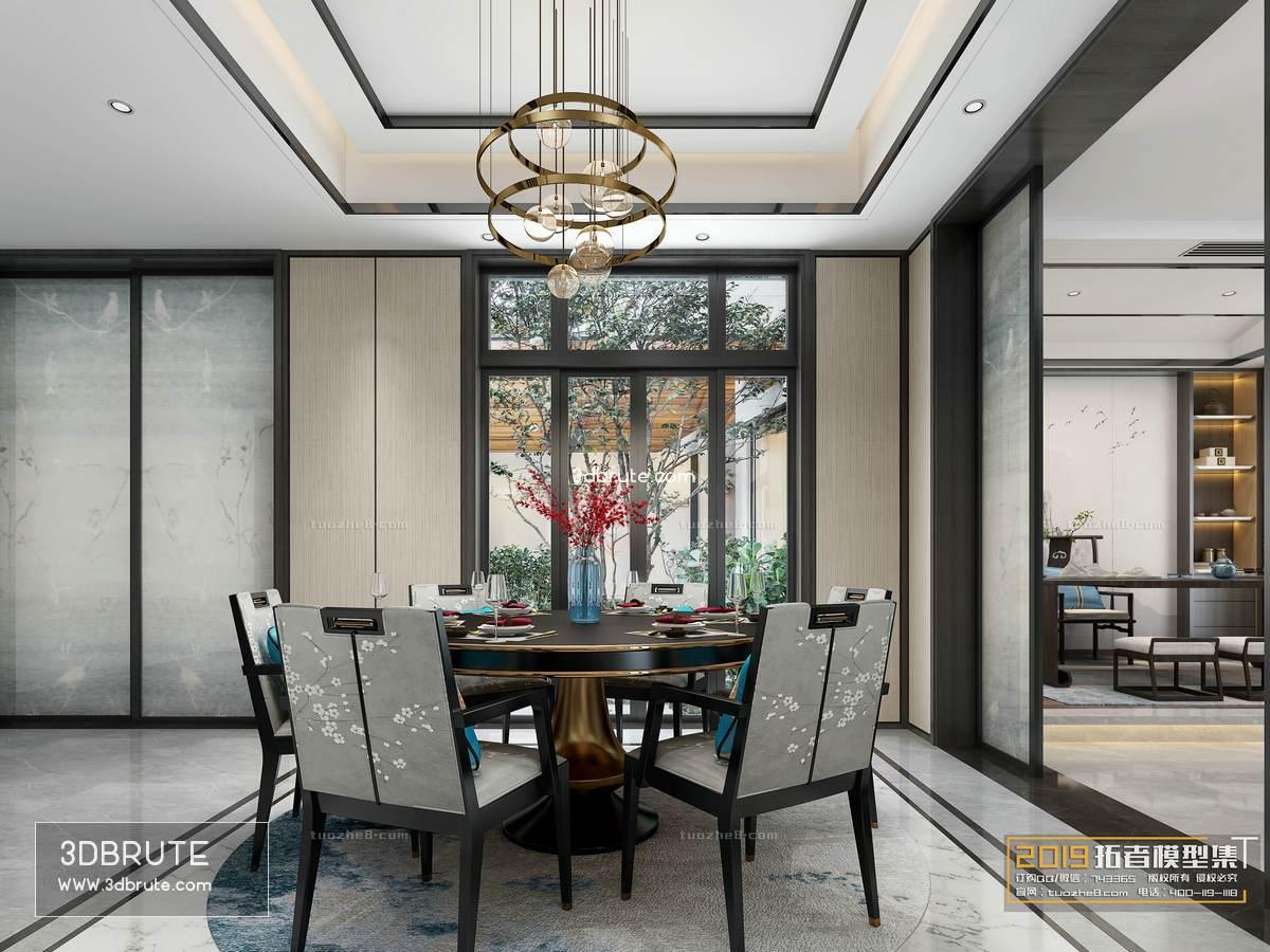 dining room 3dmodel