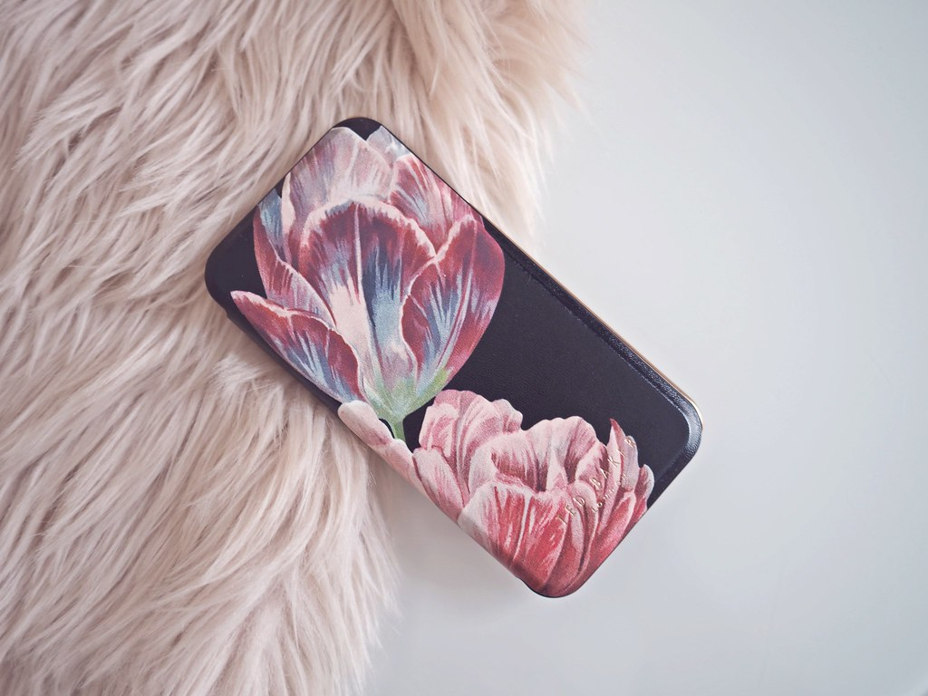 ted baker iphone case rose