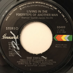 THE CHI-LITES:WE NEED ORDER(LABEL SIDE-B)