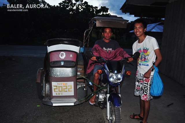 Tricycle Driver and Guide in Baler