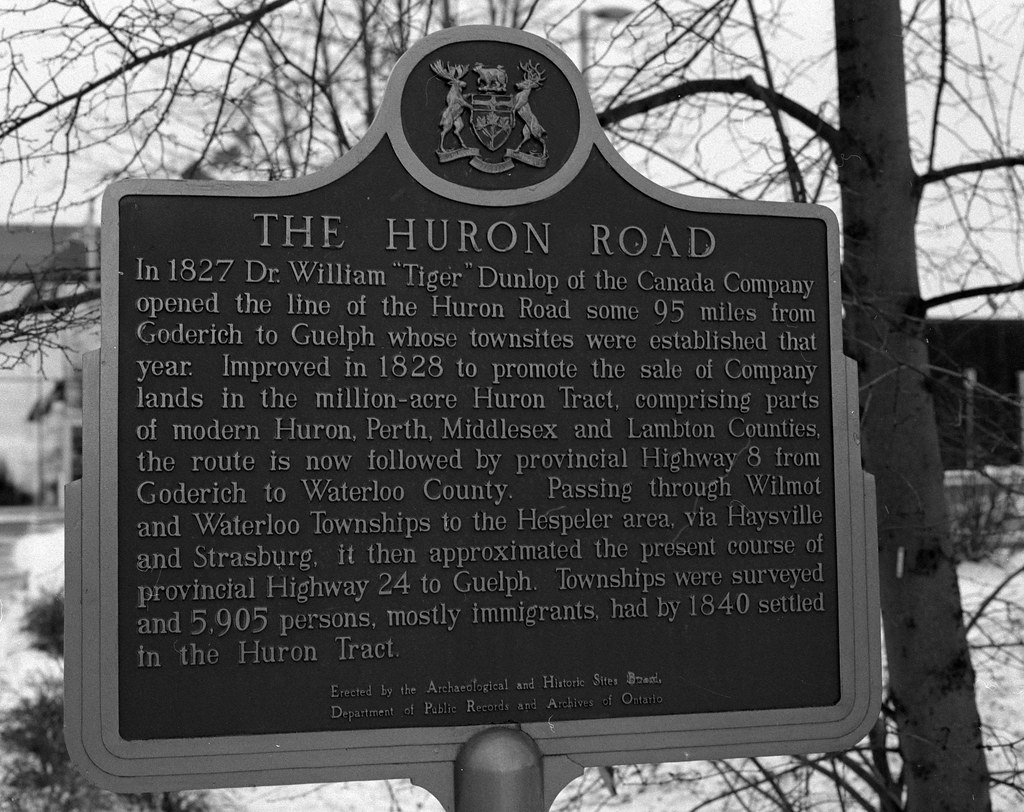 Project:1867 - The Huron Road