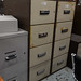 Four drawer filing cabinet E170 fire proof