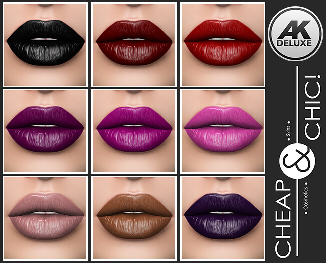 Cheap & Chic! Lipstick Essential for AK Deluxe