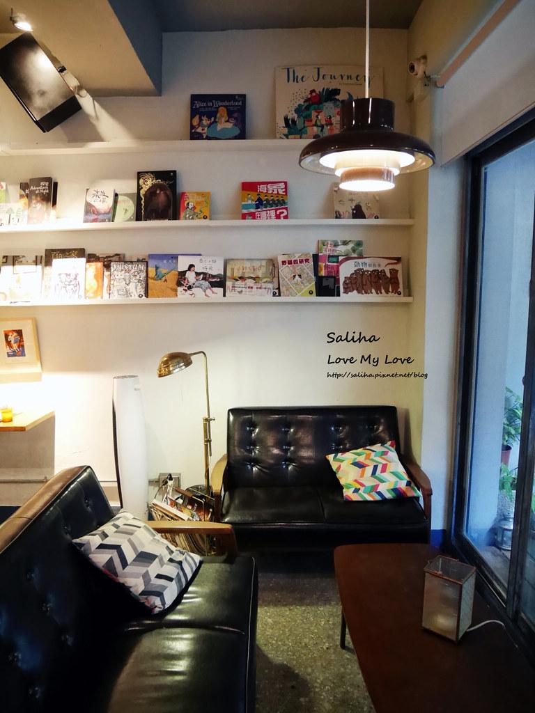 台北中正紀念堂古亭站附近不限時文青風閱讀看書繪本咖啡廳生活在他方 (15)