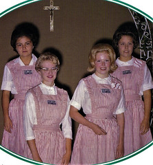 Candy Stripers and Volunteers