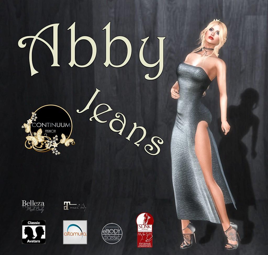 Continuum Abby Jeans GIFT - TeleportHub.com Live!