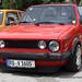 Red VW Golf Mk1 Cabrio