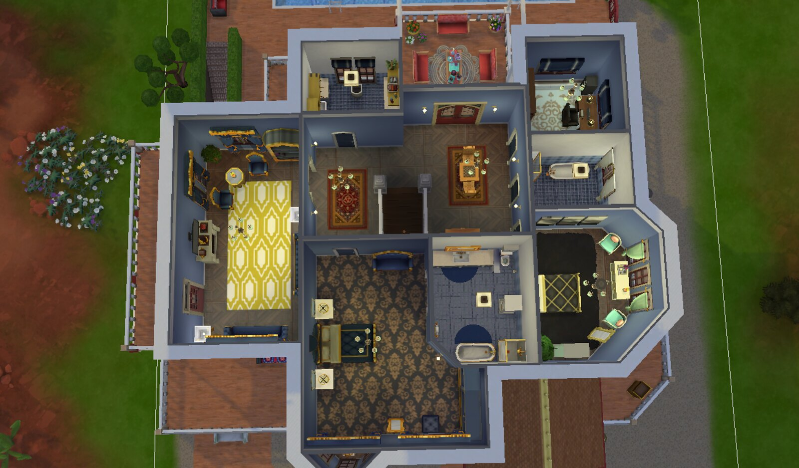 Plateau Place is now my Mayor's House w/picture — The Sims