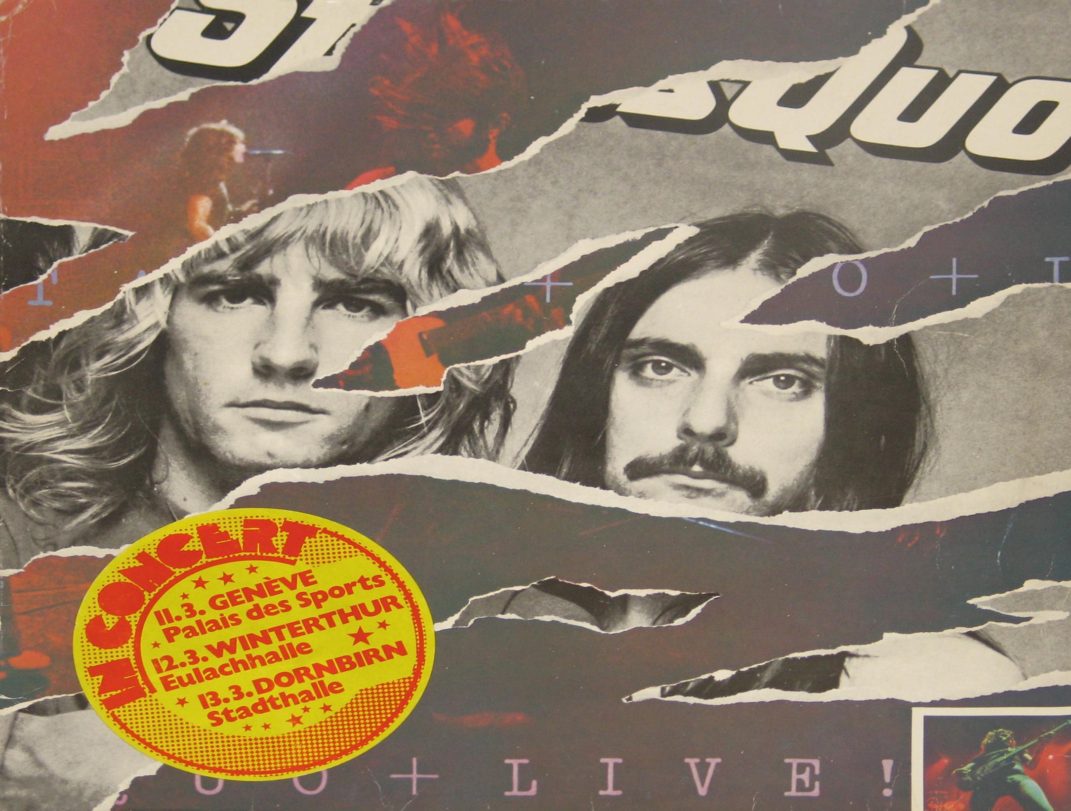 Status Quo - Live FOC 2LP vinyl