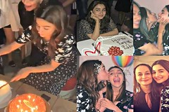 Alia Bhatt Birthday Celebration Video