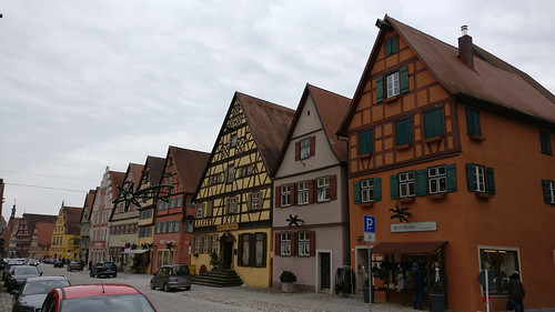 One of the nicest streets in Dinkelsbühl