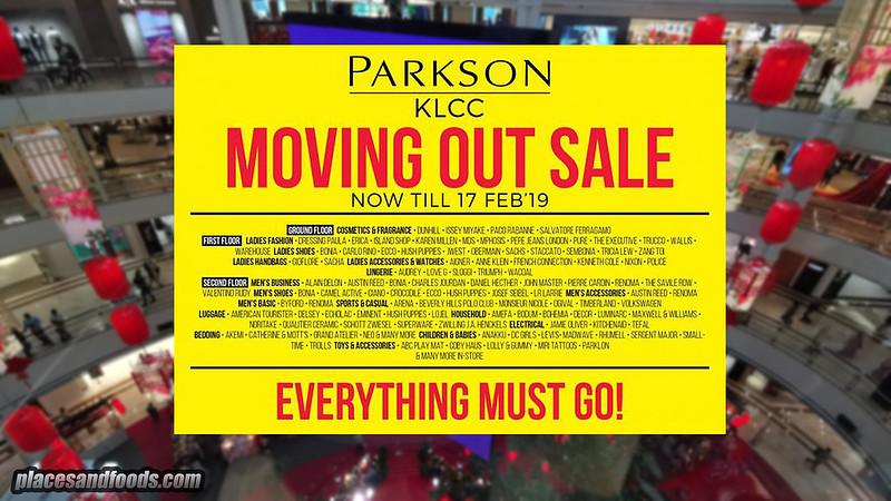 parkson suria klcc closing down