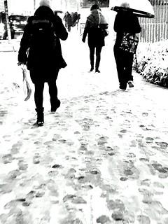 Paris 2018 under the snow
