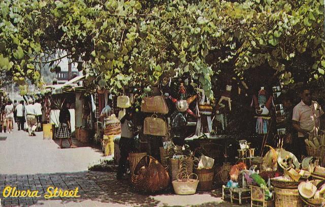 Marché de la rue Olvera, Los ANgeles