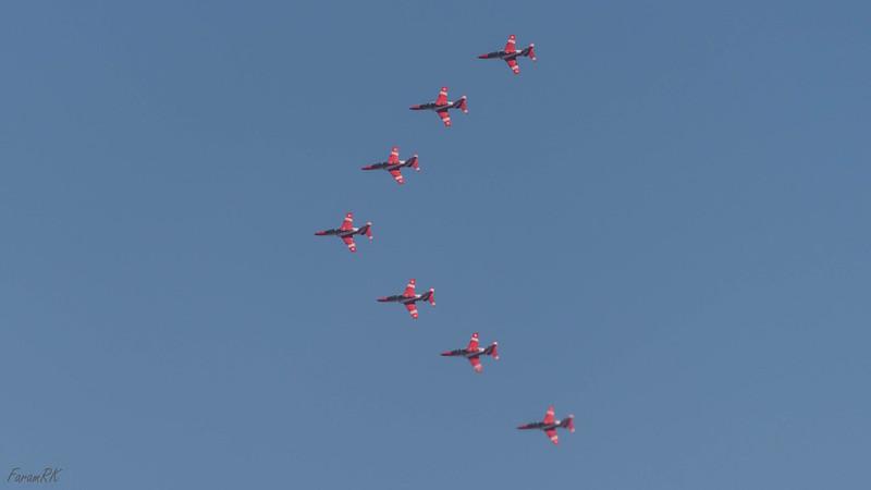IAF Surya Kiran Team  (BAE Hawk)